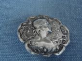 1902 Birmingham Hallmarked Silver Button(SOLD)